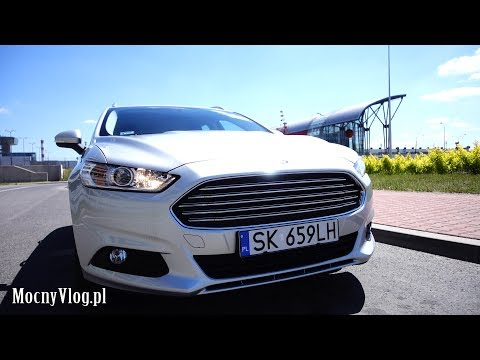 Ford Mondeo 2017 test Szafy
