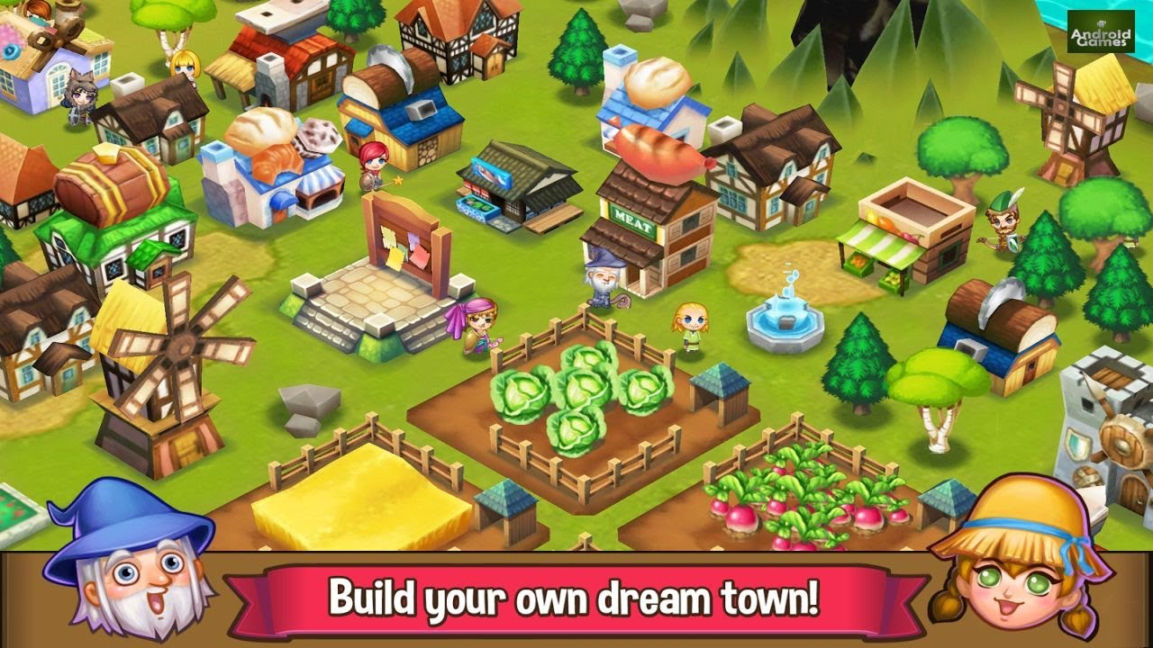 Build Your Own Village Games Online