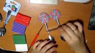 ЛЕДЕНЦЫ / полимерная глина /видеоурок