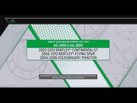 2004-2006 Bentley Continental GT BOTH REAR HEADLIGHT LEVELING SENSOR