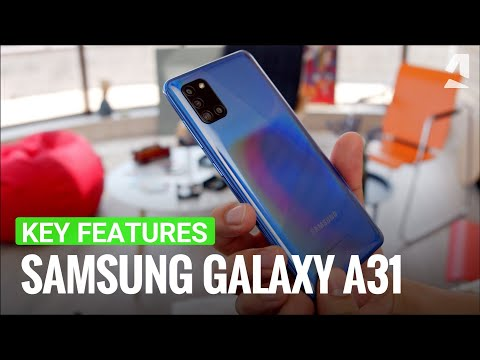 Samsung Galaxy A31 hands-on and key features