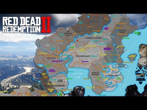Red Dead Redemption 2 Trailer Breakdown - Map, Location/Setting, Main Characters & More! (RDR2)