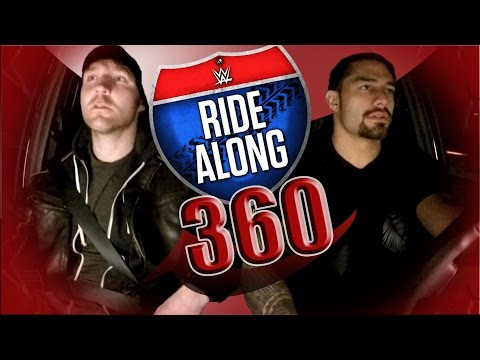 Ride Along with Dean Ambrose & Roman Reigns in 360!