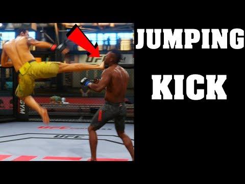 how-to-do-flying-side-kick-ea-sports-ufc-3-|-fabricio-werdum-flying-jumping-head-kick-tutorial