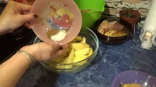 #еда #какготовить  #рецепт #картофель Как готовить картофель в духовке с курицой и брокколи
