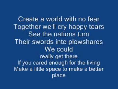 michael jackson heal the world lyrics
