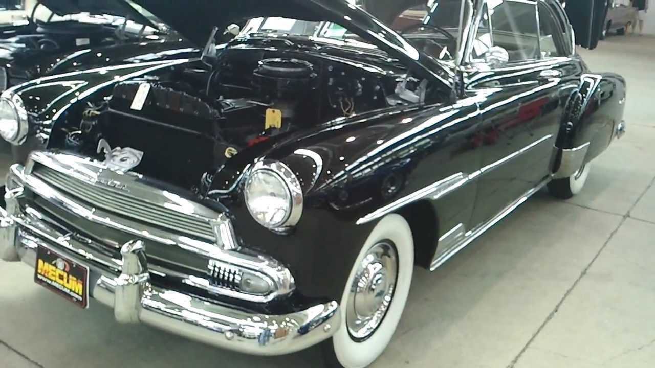 All Chevy 1951 chevy styleline deluxe : 1951 Chevrolet Bel Air 2 door hardtop car - YouTube