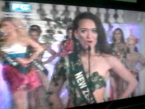Miss Earth 2012 - Opening Number