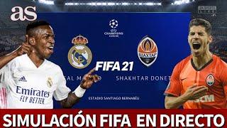 REAL MADRID vs. SHAKHTAR | FIFA 21: simulación del partido de fase de grupos de la Champions | AS