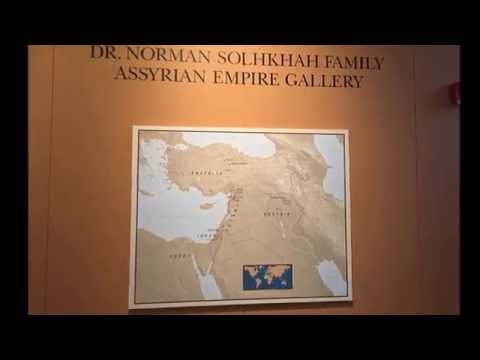 Assyrian Gallery at the Chicago Oriental Institute