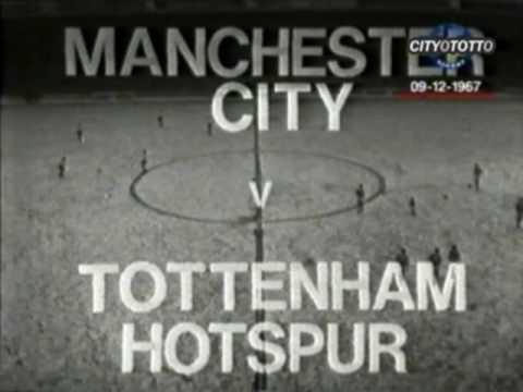 [67/68] Man City v Tottenham, Dec 9th 1967 [Highlights]