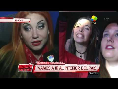 La emoción de las Bandana en su regreso a los escenarios