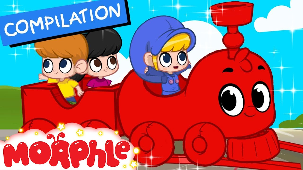 Download My Magic Train ( Non Stop Baby TV ) + 2 hours of Kids Movies and repeat By 'My Magic Pet Morphle'