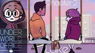Underworld Office - Visual Novel, Adventure Game - Chapter 2 - Luke screenshot 5
