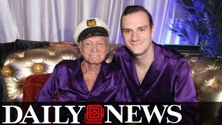 Hugh Hefner's Son Rips Into Playboy Magazine For Taking Nudity Out