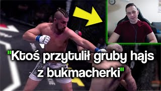 Rafonix ogląda WALKĘ: Kasjo vs Adrian PoLak! | Marcin Krasucki
