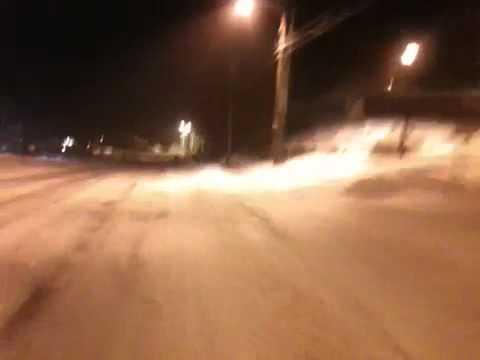 Skiing highland st, Plymouth nh