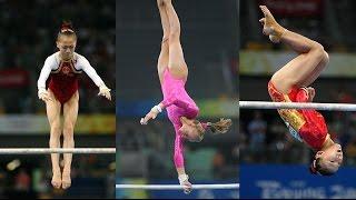 #The201720Winner ● He Kexin vs. Nastia Liukin vs. Yang Yilin