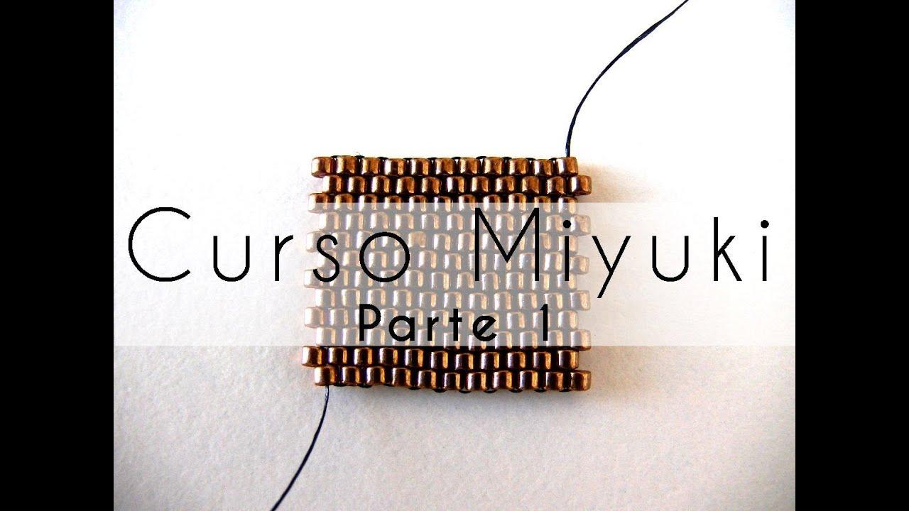 a42fb4846cd5 Curso Abalorios - Tecnicas con Miyuki ( Peyote Par ) - 1º parte ...