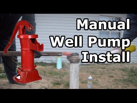 Manual Well Pitcher Pump Install - PART 1