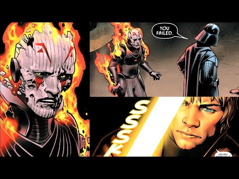 THE GRAND INQUISITOR IS BACK AND MEETS WITH VADER(CANON) - Star Wars Comics Explained