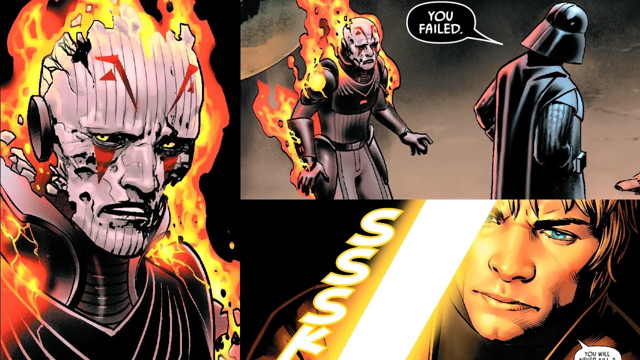 Download THE GRAND INQUISITOR IS BACK AND MEETS WITH VADER(CANON) - Star Wars Comics Explained