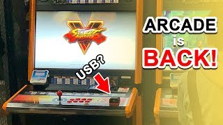 HANDS-ON: SFV Arcade Machine (Japan)