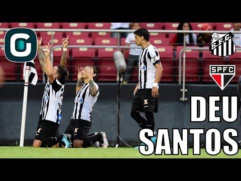 São Paulo 0x1 Santos | São Paulo Joga Bem, Mas Gabigol Decide- Gazeta Esportiva (19/02/18)