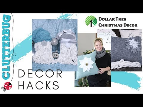 💲 Dollar Tree Holiday Decor Hacks 🎄