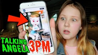 Today I call Talking Angela on Facetime on the App during the Lucky...