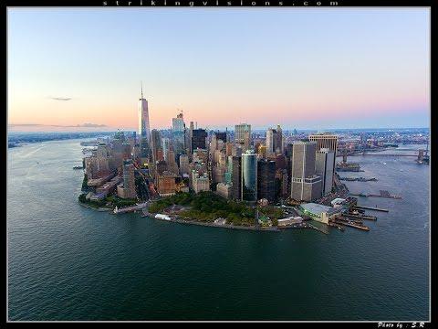 New York City 4K Drone / Aerial Video Featuring Queens, Brooklyn & Manhattan DJI Phantom 4