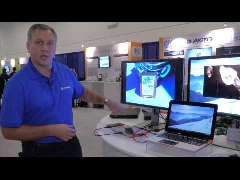 Thunderbolt 3 Single Cable Docking Demo