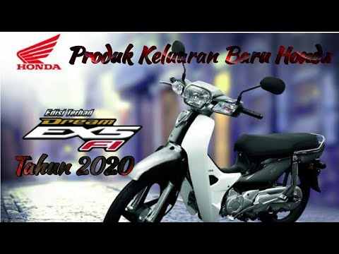 honda dream ex5 fi 2020 malaysia - youtube