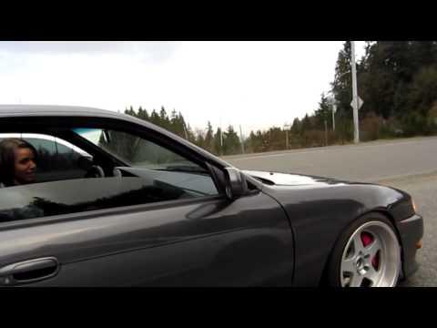 Slammed Nissan S14