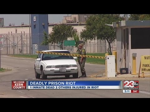 Prison riot leaves one dead, two injured