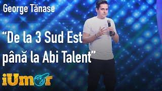 George Tănase, show total pe scena iUmor. Evoluția muzicii de la 3 Sud Est până la Abi Talent