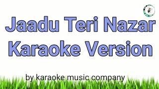 Jaadu Teri Nazar (Karaoke Version) Darr (1993) Udit Narayan (super hit songs)