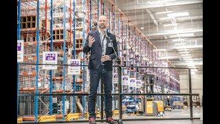 Tag der Logistik 2019 bei Amazon in Pforzheim: Eröffnung des neuen Hochregallagers