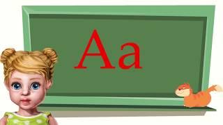 Урок 1. Учим букву А.