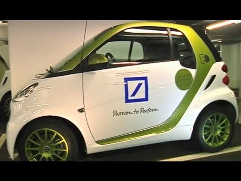 Deutsche Bank -- first electric cars in use
