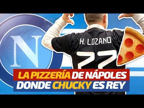 Chucky Lozano y la historia del 'loco' aficionado del Napoli