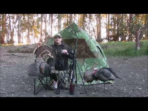 Benjamin Trail NP2 Air Rifle Turkey Hunt #1 -Spring 2015 -Featuring