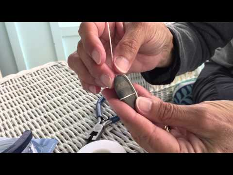 Create a Wire Wrapped Pendant with a River Rock