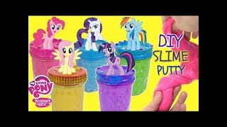 Easy To Make My Little Pony Glue Slime Recipes Compilation Video