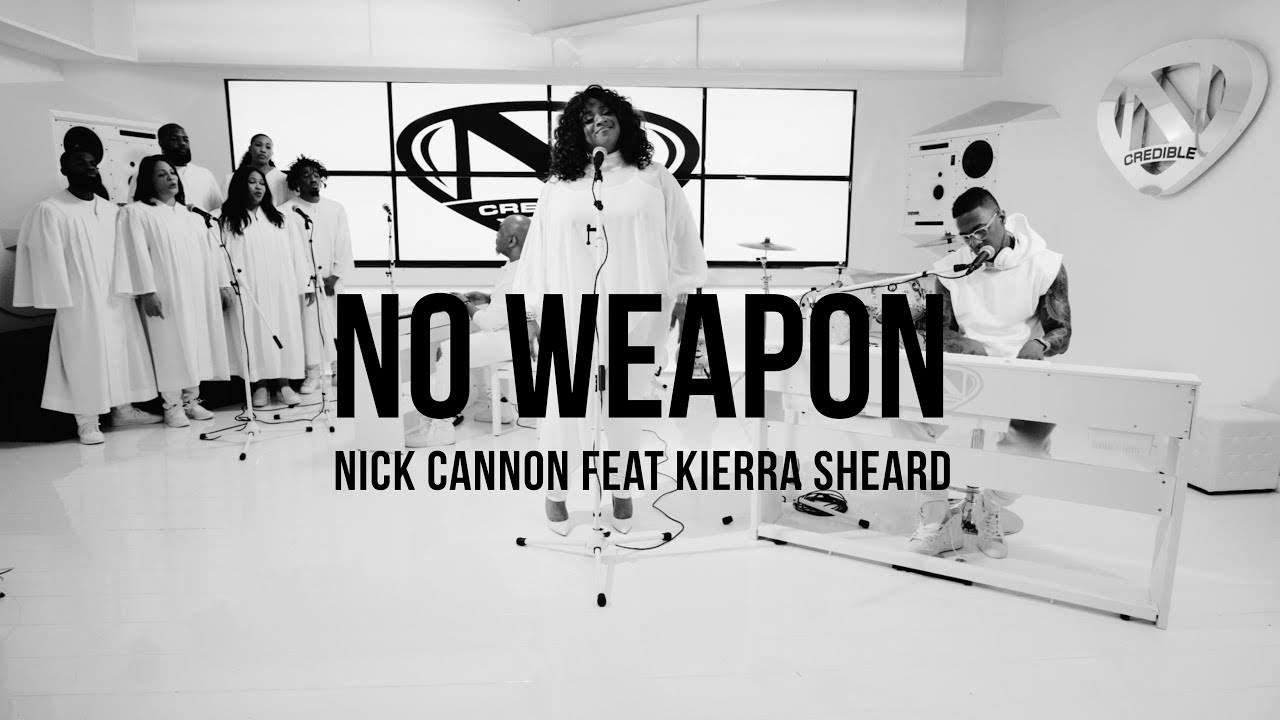 "Nick Cannon and Kierra Sheard Slay Fred Hammond's ""No Weapon""   [VIDEO]"