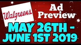 Walgreens Ad Preview Chit Chat May 26th-June 1st 2019