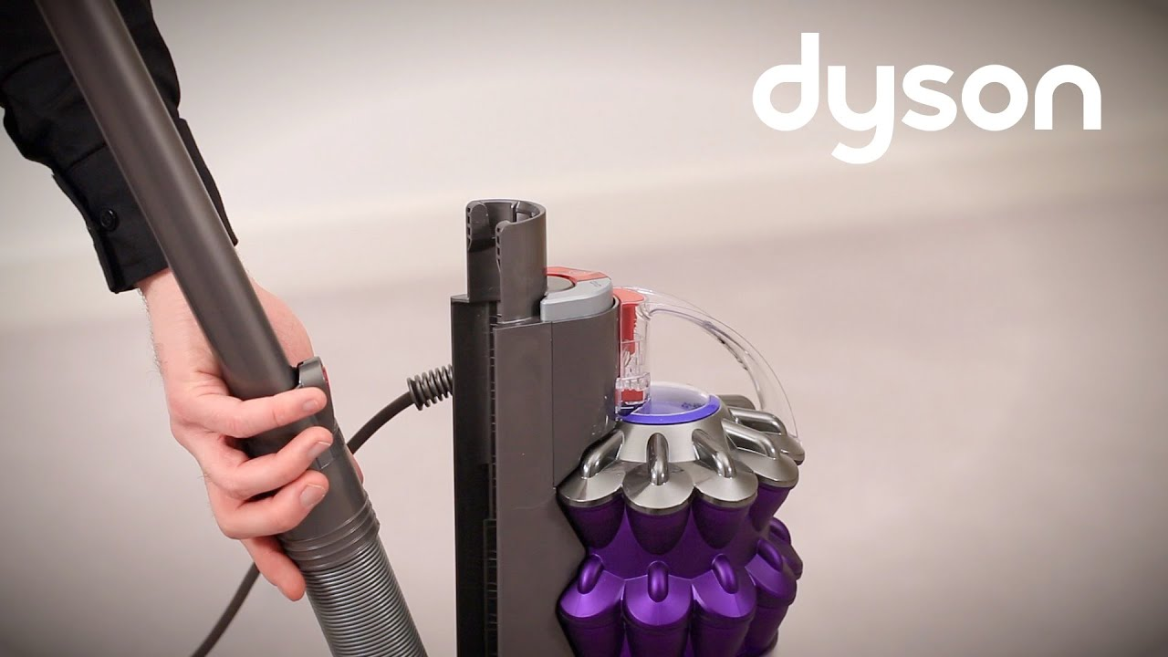 Dyson Small Ball Upright Vacuum Getting Started Au