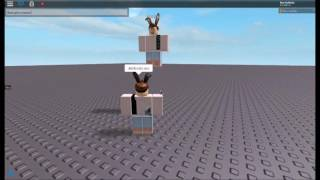 How to: Make a ROBLOX character model using btools / f3x [WORKING]