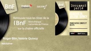 Roger Blin, Valérie Quincy - Nocturne