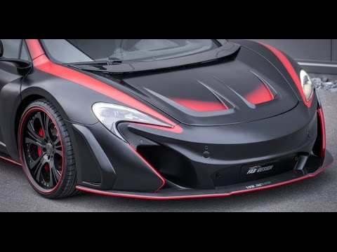 2016 McLaren 650S Coupe custom by FAB Design (VAYU GTR Coupe) - YouTube